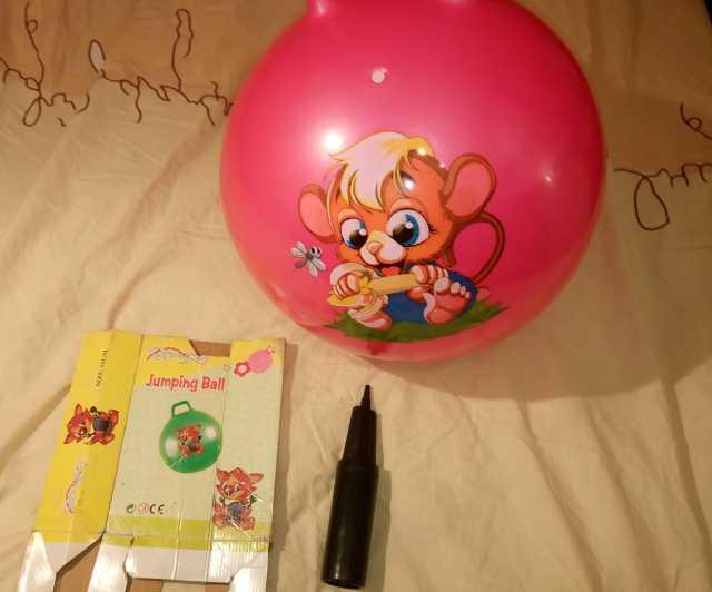 "Продам: Мяч-попрыгун ""jumping ball '' с ручкам"