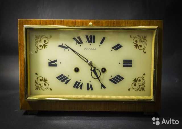 Продам Часы Янтарь с боем 1974 года СССР