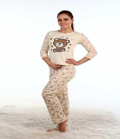 Продам Пижамы из - футера женские оптом