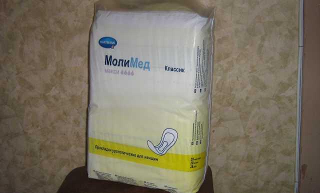 Продам урологические прокладки МолиМед макси 4