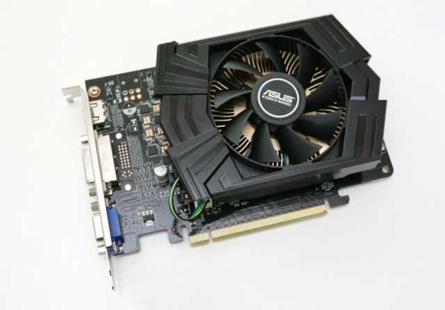 Продам GTX750 2GB asus игровая видеокарта