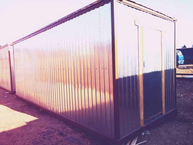 Продам Утепленный Блок контейнер строительный (