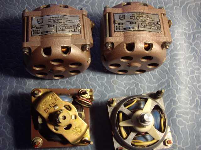Продам: 4 мотора для проигрывателей и магнитоф