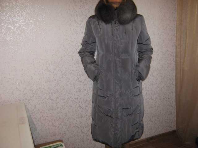 Продам Пуховик-пальто 46-48