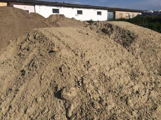 Продам Песок природный немытый от 1 до 30 тонн.