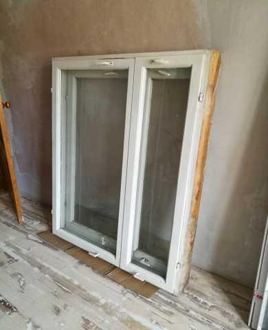 Продам 2 окна б/у (113х144см)
