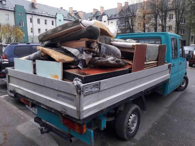 Предложение: Вывоз мусора, спил деревьев, снос