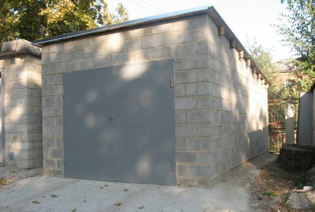 Предложение: строительство гаражей