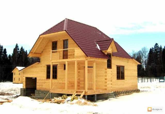 Предложение: строительство домов, коттеджей из бруса