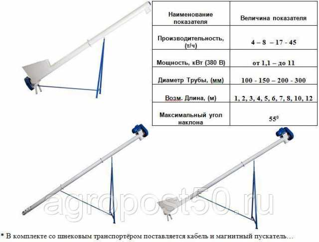 Продам: Транспортер с цельнотянутой спиралью