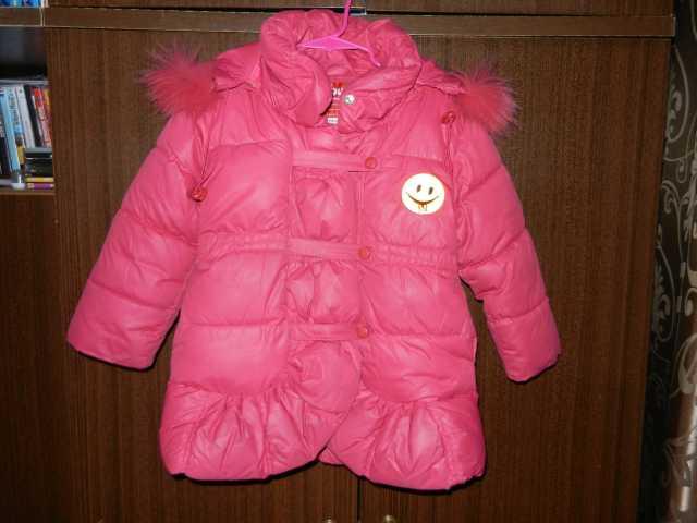 Продам Зимний комплект на девочку, рост 104 см.