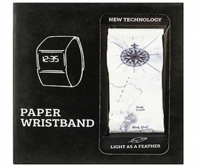 Предложение: Бумажные часы Paper Watch Wristband в ро