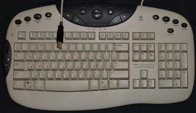 Продам Клавиатура Logitech. USB