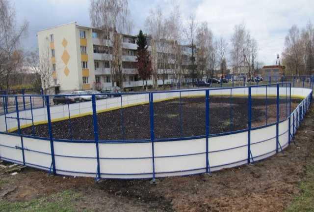 Предложение:  Производство и монтаж хоккейных коробок