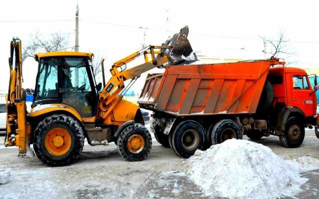 Предложение: Техника для уборки снега.