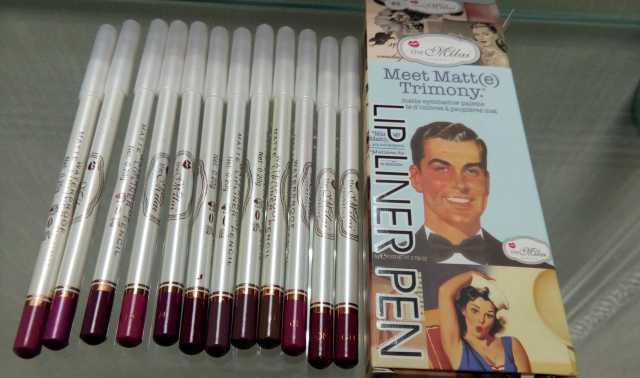 Продам Контурные карандаши для губthe balm