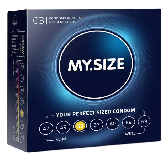 Продам: Презервативы MY.SIZE №3 (53 размер)