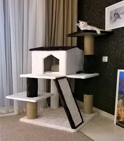 Продам Дом для кошки, когтеточки, комплексы