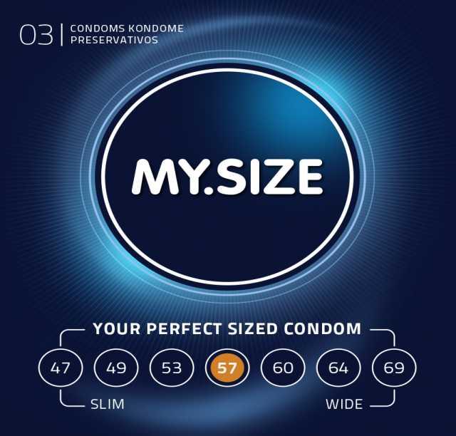 Продам: Презервативы MY.SIZE №3 (57 размер)