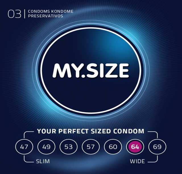 Продам: Презервативы MY.SIZE №3 (64 размер)