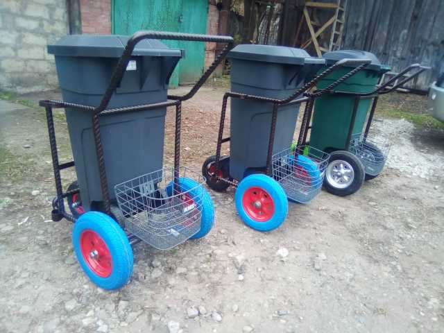 Продам Тележки для уборки мусора