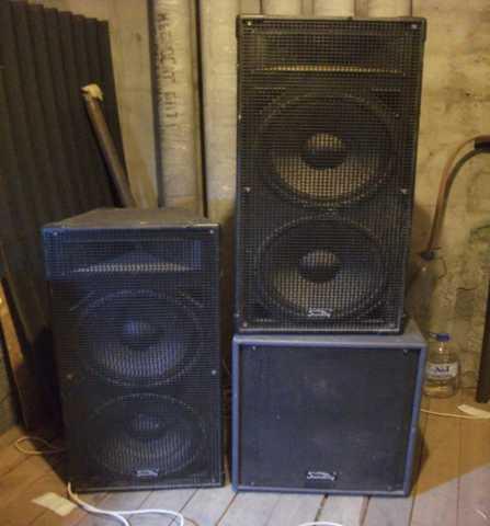 Продам 3 квт звуковое оборудование