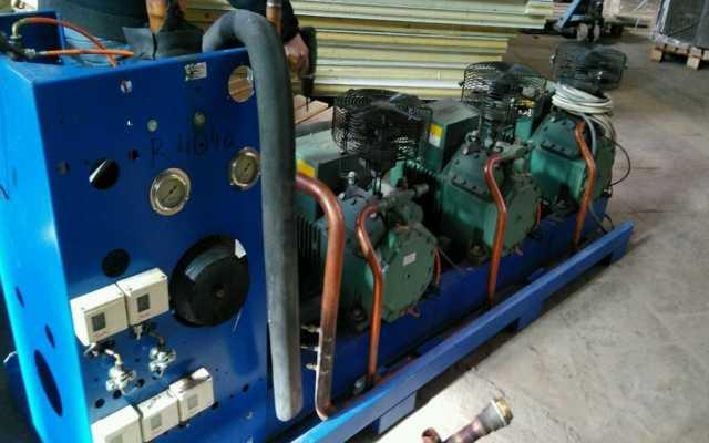 Продам Агрегат холодильный на базе Bitzer 4TCS