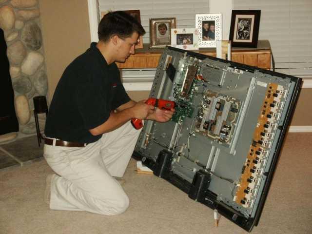 Предложение: Ремонт телевизоров на дому.