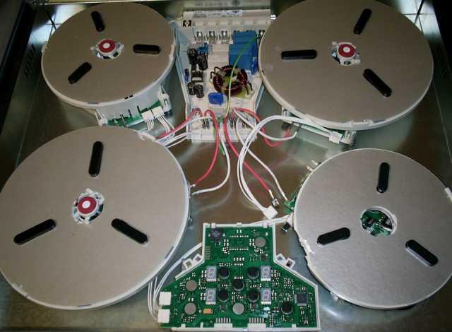Предложение: Ремонт индукционных варочных панелей