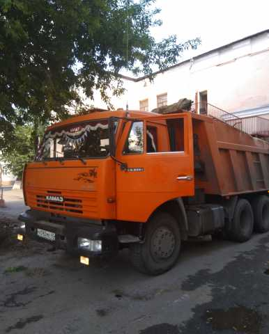 Предложение: Услуги самосвалов КамАЗ 15 тонн