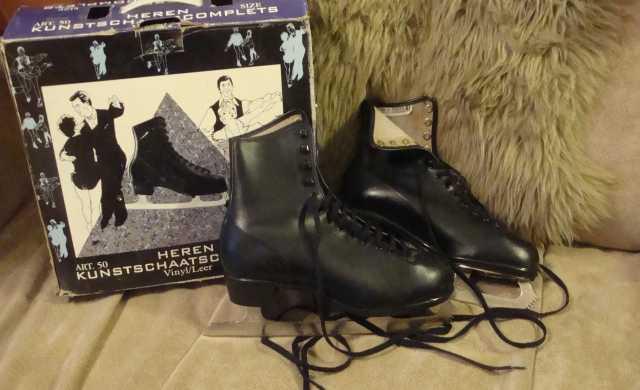 Продам Фигурные коньки (чёрные)