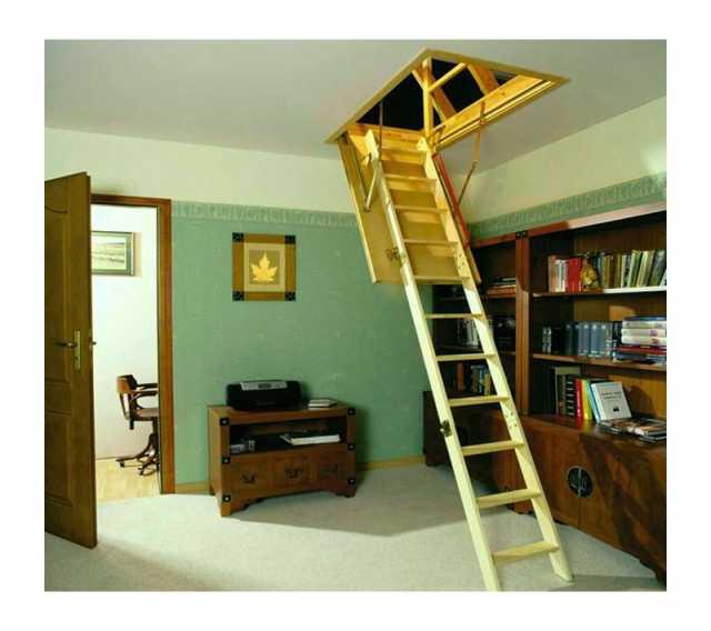Продам: лестница чердачная деревянная