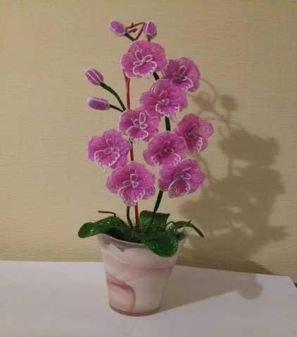 Продам Орхидея из бисера