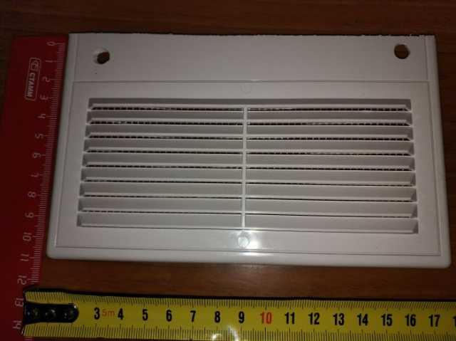 Продам  вентиляционная решетка 18x11 см