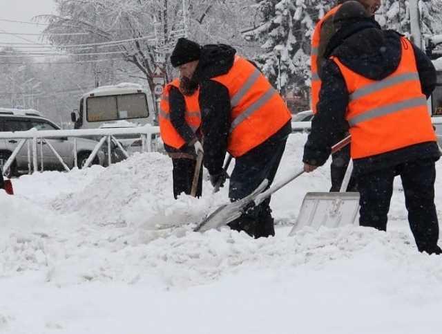 Предложение: Чистка, уборка, погрузка и вывоз снега