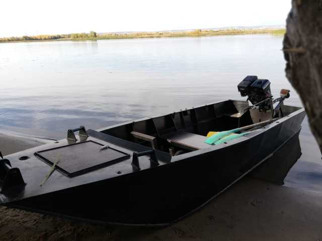 Продам мотор болотоход и лодка из ПНД