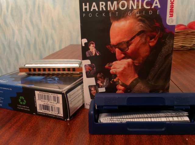 Продам HOHNER BLUES HARP MS-SERIES