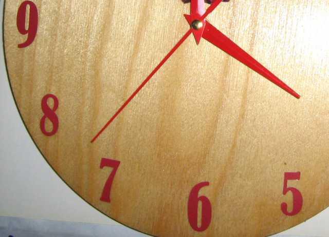 Продам комплект цифр для настенных часов