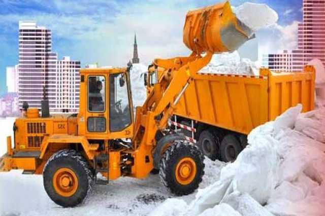 Предложение: вывоз снега круглосуточно