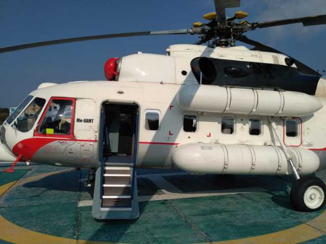 Предложение: Выгодная аренда вертолета Ми-8