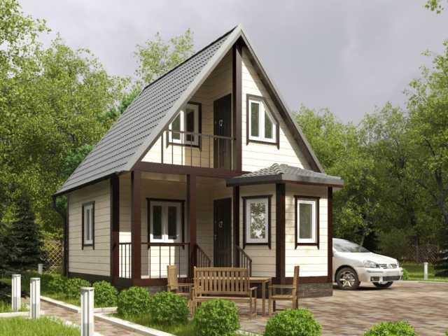 Предложение: Каркасные дома под ключ