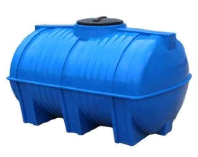 Продам Горизонтальная пластиковая емкость 1000л