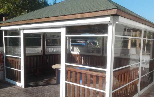 Предложение: Мягкие окна для беседки террасы веранды
