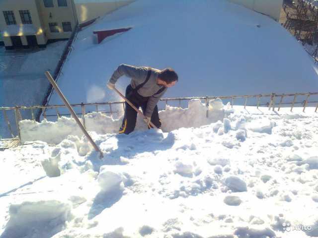 Предложение: уберем снег и вывезем машиной камаз
