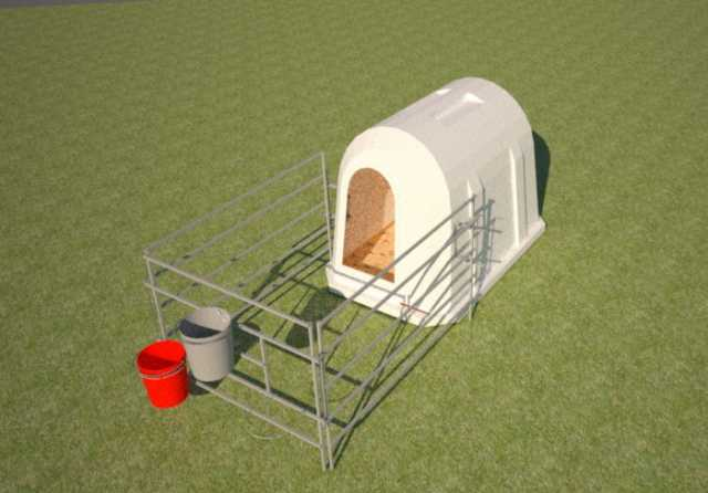 Продам домики для телят