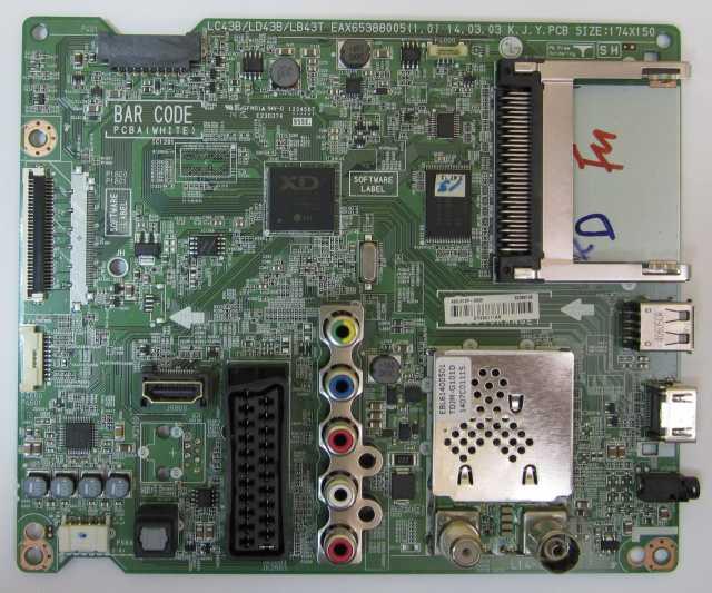 Продам Main Board EAX65388005(1.0) LC43B_LD43B_