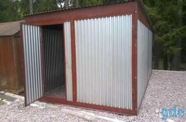 Гаражи разборные металлические в дмитрове купить фото готовых гаражей