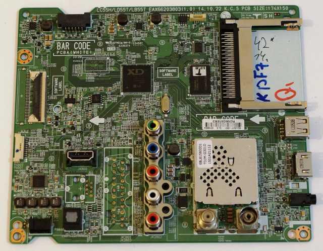 Продам Main Board EAX66203803(1.0) LC55H_LB55T_