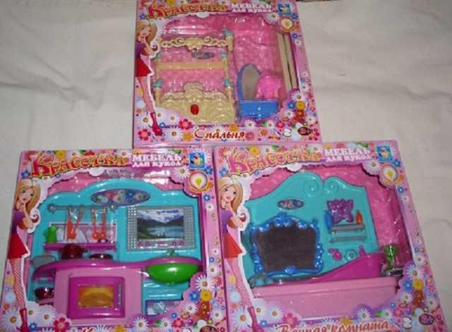 Продам Мебель  для Барби с подсветкой  для куко