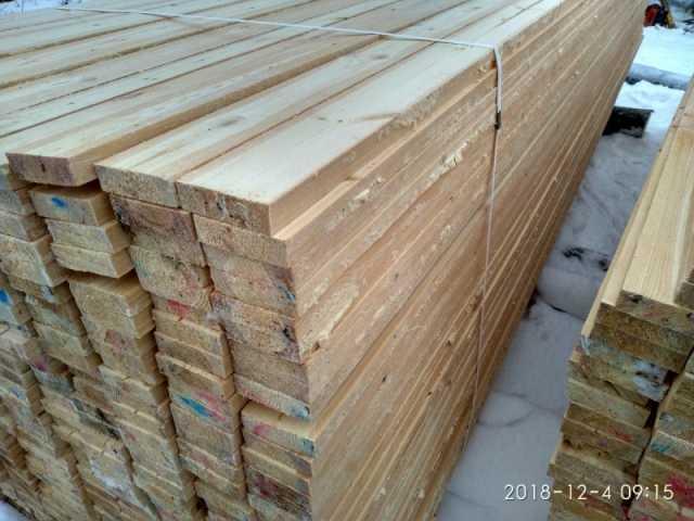 Продам Доска обрезная строительная (хвойная)